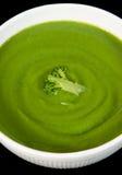 σούπα μπρόκολου Στοκ Εικόνες