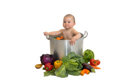 σούπα μωρών Στοκ Εικόνα
