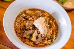 Σούπα νουντλς του Tom yum Στοκ φωτογραφία με δικαίωμα ελεύθερης χρήσης