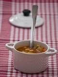 Σούπα ντοματών Στοκ Φωτογραφία
