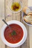 Σούπα ντοματών Στοκ Φωτογραφίες