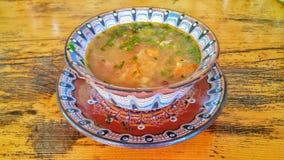 σούπα παραδοσιακή Στοκ Εικόνες