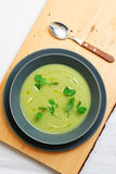 Σούπα πατατών κρέμας Στοκ φωτογραφίες με δικαίωμα ελεύθερης χρήσης