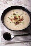 σούπα πατατών μανιταριών Στοκ Εικόνα