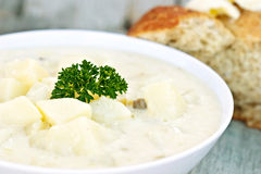 σούπα πατατών Στοκ φωτογραφία με δικαίωμα ελεύθερης χρήσης