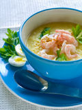 σούπα ρυζιού στοκ εικόνα με δικαίωμα ελεύθερης χρήσης