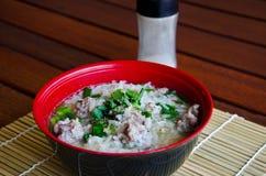 Σούπα ρυζιού στοκ εικόνα