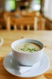Σούπα σκόρδου Στοκ Φωτογραφίες