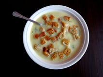 Σούπα σκόρδου Στοκ εικόνα με δικαίωμα ελεύθερης χρήσης