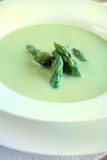 σούπα σπαραγγιού στοκ φωτογραφία