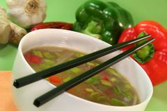σούπα Ταϊλανδός Στοκ Φωτογραφίες