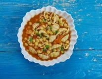 Σούπα της Mia Minestrone Mamma Στοκ Φωτογραφία