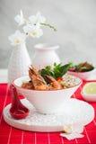 Σούπα του Tom Yum στοκ εικόνα