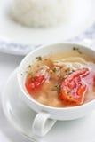 Σούπα του Tom Yum στοκ εικόνες με δικαίωμα ελεύθερης χρήσης