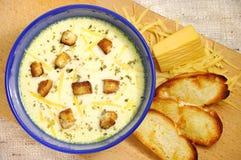 σούπα τυριών Στοκ φωτογραφία με δικαίωμα ελεύθερης χρήσης