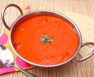 Σούπα των ντοματών Στοκ Φωτογραφία