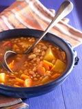 Σούπα φασολιών Στοκ Εικόνες