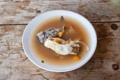 Σούπα ψαριών - ο του δέλτα τρόπος Δούναβη Στοκ Εικόνες