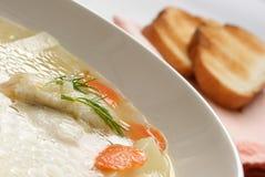 σούπα ψαριών Στοκ Φωτογραφία