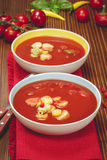 Σούπα Gazpacho Στοκ Φωτογραφίες