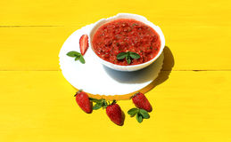 Σούπα Gazpacho Στοκ φωτογραφία με δικαίωμα ελεύθερης χρήσης