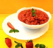 Σούπα Gazpacho Στοκ εικόνες με δικαίωμα ελεύθερης χρήσης
