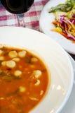 σούπα minestone Στοκ εικόνα με δικαίωμα ελεύθερης χρήσης