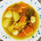 Σούπα Veggies Στοκ φωτογραφία με δικαίωμα ελεύθερης χρήσης