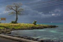 Σούρουπο στην Τζαμάικα Στοκ εικόνες με δικαίωμα ελεύθερης χρήσης