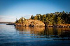 Σούρουπο στους βράχους Στοκ φωτογραφία με δικαίωμα ελεύθερης χρήσης