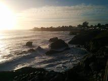 Σούρουπο του Cruz Καλιφόρνια Santa Στοκ φωτογραφίες με δικαίωμα ελεύθερης χρήσης