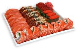 Σούσια γεύματος κουζίνας Japaneese Στοκ φωτογραφίες με δικαίωμα ελεύθερης χρήσης