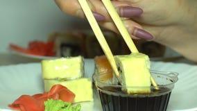 Σούσια και σάλτσα στον πίνακα φιλμ μικρού μήκους