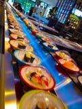 Σούσια και sashimi Στοκ Εικόνες