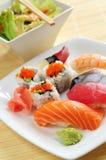 σούσια μεσημεριανού γεύματος Στοκ εικόνα με δικαίωμα ελεύθερης χρήσης