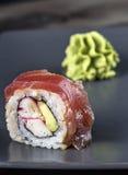 Σούσια με το wasabi Στοκ Φωτογραφία
