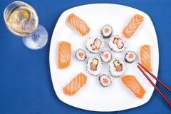 σούσια πιάτων Στοκ φωτογραφίες με δικαίωμα ελεύθερης χρήσης