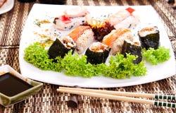 σούσια σαλάτας Στοκ Εικόνες