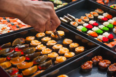 Σούσια στην ταϊλανδική αγορά Στοκ Φωτογραφίες
