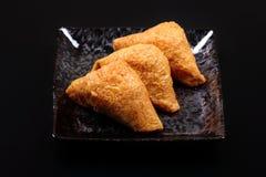 Σούσια Inari - ιαπωνικά σούσια Στοκ εικόνα με δικαίωμα ελεύθερης χρήσης