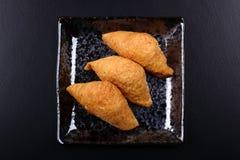 Σούσια Inari - ιαπωνικά σούσια Στοκ Εικόνες