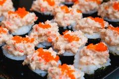 Σούσι-τρόφιμα Ιαπωνία Στοκ φωτογραφίες με δικαίωμα ελεύθερης χρήσης