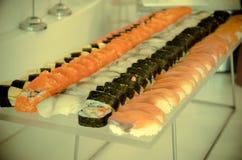 Σούσι-τρόφιμα Ιαπωνία Στοκ εικόνα με δικαίωμα ελεύθερης χρήσης