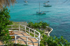 Σολάρηο στο ξενοδοχείο, νησί Boracay, Φιλιππίνες Στοκ Φωτογραφίες