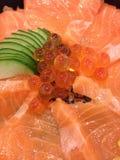 Σολομός τροφίμων της Ιαπωνίας Στοκ φωτογραφία με δικαίωμα ελεύθερης χρήσης