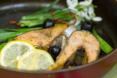 Σολομός ψαριών Στοκ εικόνες με δικαίωμα ελεύθερης χρήσης