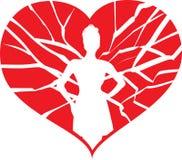 Σπάζει το επικίνδυνο κορίτσι καρδιών μου Στοκ φωτογραφίες με δικαίωμα ελεύθερης χρήσης