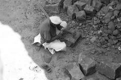 Σπάζοντας βράχοι Στοκ Εικόνα