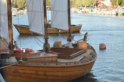 Σπάνια εκλεκτής ποιότητας βάρκα Στοκ Εικόνες