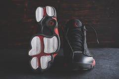 Σπάνιος αέρας Ιορδανία 13 της Nike αναδρομική Στοκ φωτογραφία με δικαίωμα ελεύθερης χρήσης